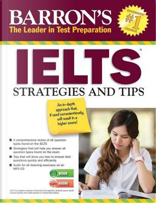 IELTS Strategies and Tips with MP3 CD 2nd Edition by Barron's