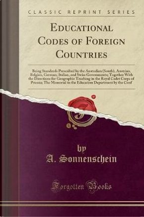 Educational Codes of Foreign Countries by A. Sonnenschein