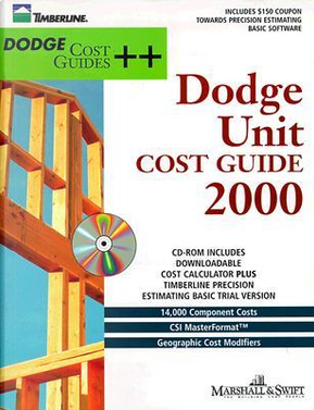 Dodge Unit Cost Guide 2000 by Marshall & Swift