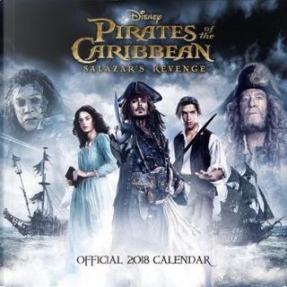 Pirates of the Caribbean 5 Salazar's Revenge Official 2018 Calendar - Square Wall Format Calendar by Pirates of Caribbean