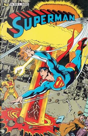 Superman n. 55 by Len Wein