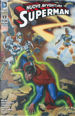 Le nuove avventure di Superman n. 17 by Jerry Ordway, Kelly Sue DeConnick, Steve Niles