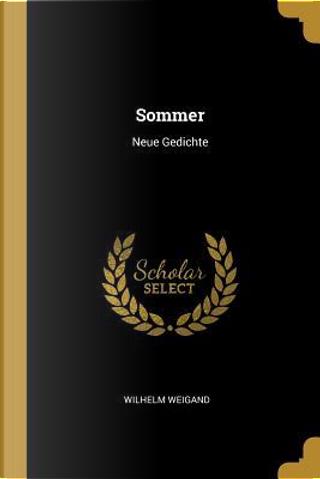 Sommer by Wilhelm Weigand