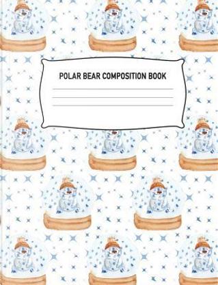 Polar Bear Composition Book by Aguilar Publications
