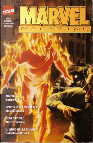 Marvel Magazine n. 4 by Howard Mackie, Gil Kane, Ron Marz, Tom Grindberg, Mary Jo Duffy, Rudyard Kipling, Kurt Busiek, Klaus Janson, Alex Ross, P. Craig Russell