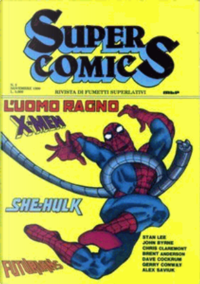Super Comics n. 2 by Chris Claremont, Dave Cockrum, Gerry Conway, John Byrne