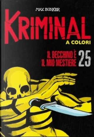 Kriminal a colori - Vol. 25 by Max Bunker