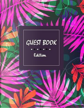 Guest Book Edition by Akane Publishing