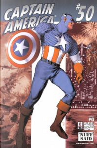 Captain America Vol.3 #50 by Brian David-Marshall, Dan Jurgens, Darko Macan, Evan Dorkin, Jen Van Meter, Kathryn Kuder