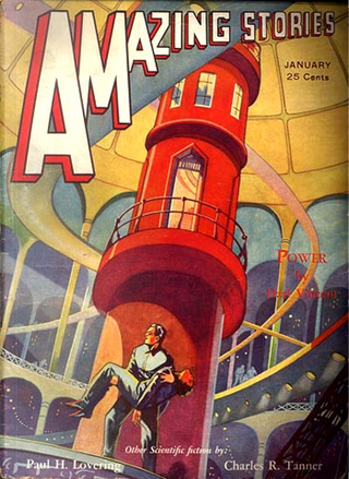 Amazing Stories n.6/10 by Charles R. Tanner