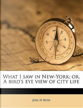 What I Saw in New-York; Or, a Bird's Eye View of City Life by Joel H. Ross