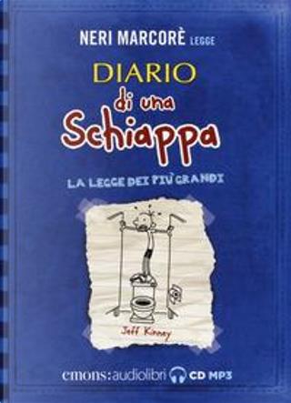 Diario di una schiappa. La legge dei più grandi letto da Neri Marcorè by Jeff Kinney