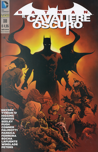 Batman Il cavaliere oscuro n. 38 by James Tynion IV, Kyle Higgins, Ray Fawkes, Scott Snyder, Steve Pugh, Tim Seeley