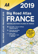 Aa Publishing 2019 Big Road Atlas France by Automobile Association (Great Britain)