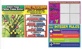 Pre-Algebra Bulletin Board Set by Mark Twain Media
