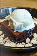 Chocolate Brownie and Vanilla Ice Cream Journal by CS Creations