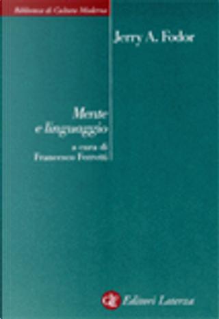 Mente e linguaggio by Jerry A. Fodor