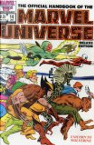 Essential Official Handbook of the Marvel Universe - Deluxe Edition, Vol. 3 by Bob Brown, Dave Cockrum, John Romita Jr., Mark Gruenwald, & others, Bob Layton, John Byrne, Peter Sanderson