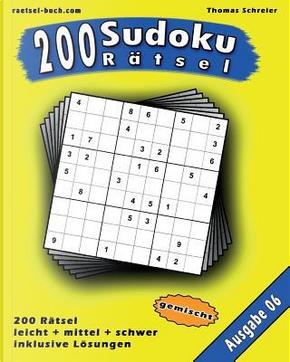 200 Gemischte Zahlen-sudoku by Thomas Schreier