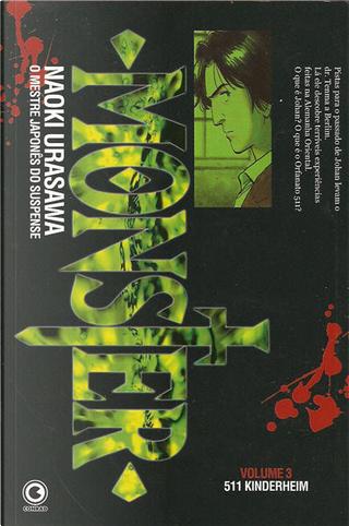 Monster - Volume 3 by Naoki Urasawa