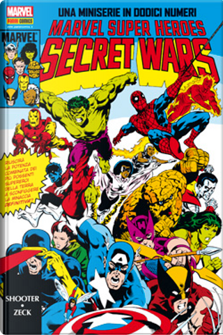 Marvel Omnibus: Secret Wars by Danny Fingeroth, Jim Shooter, Tom DeFalco