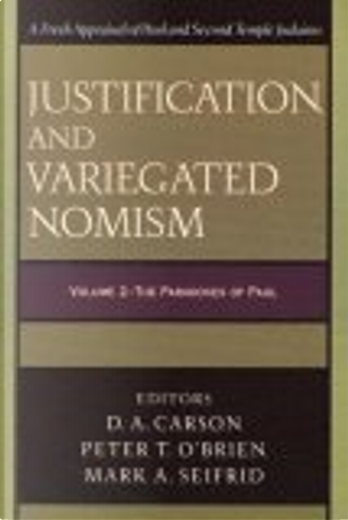 Justification And Variegated Nomism by