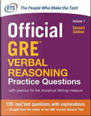 Official GRE Verbal Reasoning Practice Questions, Second Edition, Volume 1 by N/A Educational Testing Service