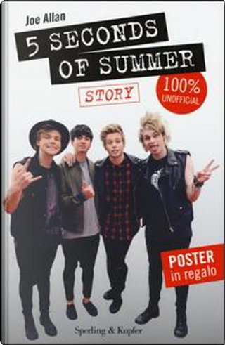 5 Seconds of Summer. Story. 100% unofficial. Con poster by Joe Allen