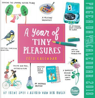 A Year of Tiny Pleasures 2018 Calendar by Irene Smit