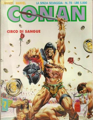 Conan la spada selvaggia n. 78 by Charles Dixon, Michael Fleischer