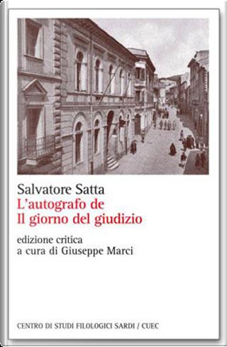 L'autografo de Il giorno del giudizio by Salvatore Satta