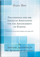Proceedings for the American Association for the Advancement of Science by American Association for the Ad Science