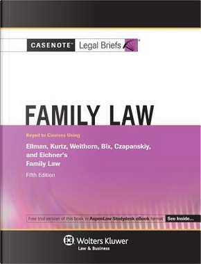 Family Law by CCH Incorporated