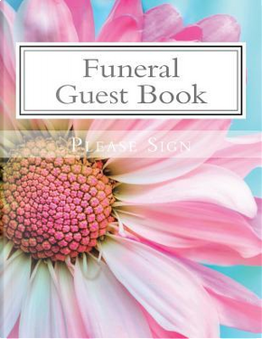 Funeral Guest Book by Lisa Marie Smith