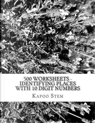500 Worksheets - Identifying Places With 10 Digit Numbers by Kapoo Stem