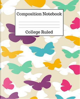 Composition Notebook College Ruled by Mahtava Journals