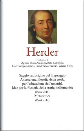 Herder by Johann Gottfried Herder