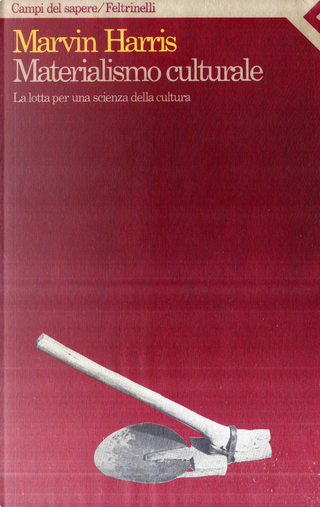 Materialismo culturale by Marvin Harris