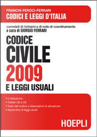 Codice civile 2009 by AA. VV.