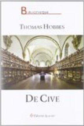 De cive by Thomas Hobbes