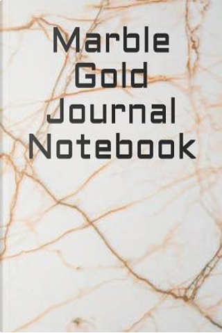Marble Gold Journal Notebook by James Carroll