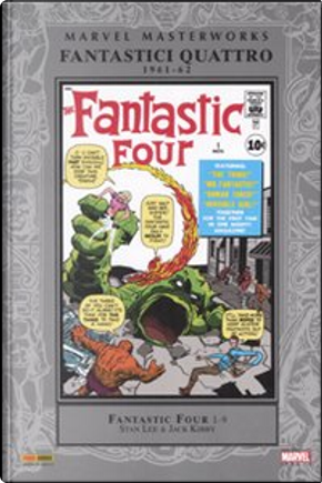 Marvel Masterworks: I Fantastici Quattro vol. 1 by Stan Lee, Jack Kirby, Steve Ditko