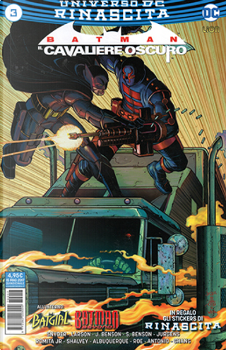 Batman: Il cavaliere oscuro #3 by Dan Jurgens, Hope Larson, Julie Benson, Scott Snyder, Shawna Benson