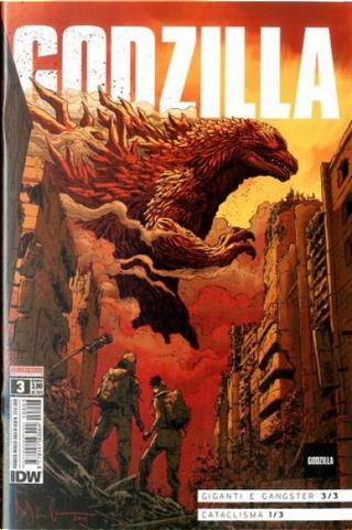 Godzilla #3 by Cullen Bunn, John Layman