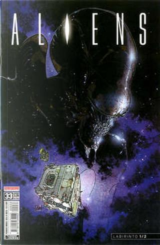 Aliens #33 by Jim Woodring