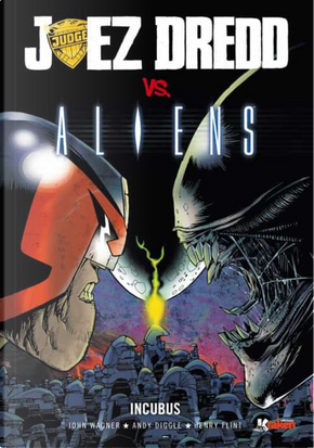 Juez Dreed VS Aliens by Jhon Wagner