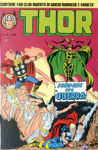 Thor - II serie n. 40 by Roy Thomas, Stan Lee