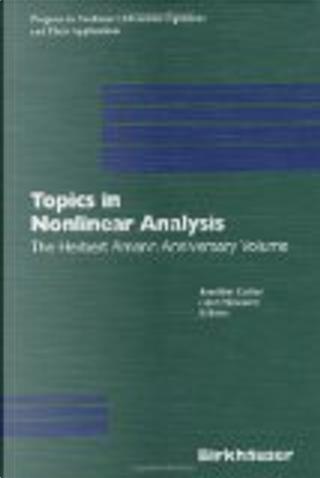 Topics in nonlinear analysis by Herbert Amann