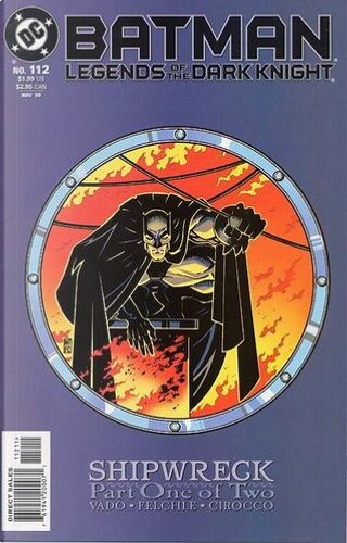 Batman: Legends of the Dark Knight n. 112 by Dan Vado