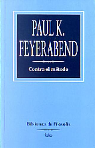 Contra el método by Paul K. Feyerabend